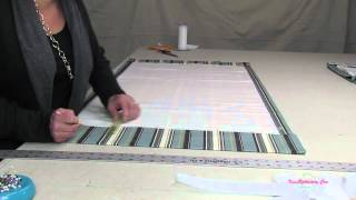 How To Make A Roman Shade Part 1
