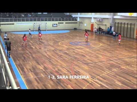 Campeonato Nacional Futsal Feminino | Apuramento Campe�o | FC Vermoim, 2 - Sport Lisboa e Benfica, 4