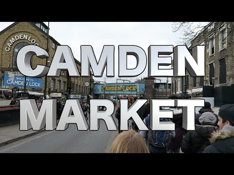 London Street Food Tour at Camden Market Food Stalls + Pub