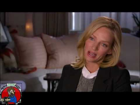 Interview with Uma Thurman for Percy Jackson & The Olympians: The Lightning Thief Video