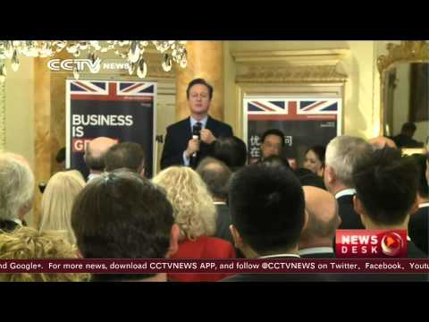 British PM welcomes Chinese investment into sensitive sectors