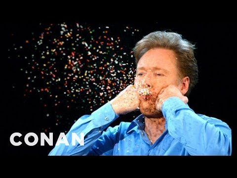 More Conan Super Slow-Mo Camera Moments - CONAN on TBS