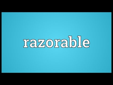 Header of Razorable