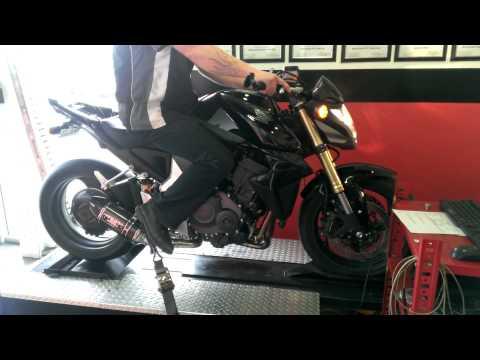 2011 Honda CB1000r Yoshimura R-77 & PC5 Dyno Run