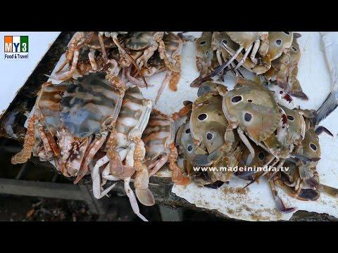 Crab Market | Lokhande Marg | MUMBAI FIST MARKET | MUMBAI STREET FOOD | 4K VIDEO | UHD VIDEO