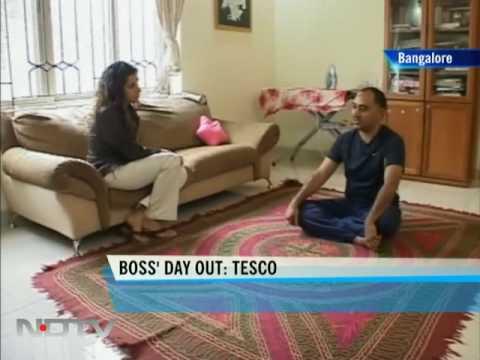 Boss' Day Out: Sandeep Dhar of Tesco HSC