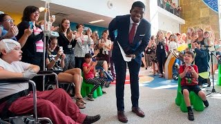 "Child asks P.K. Subban ""Who"