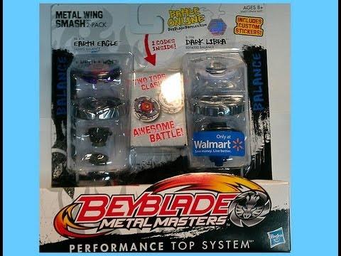 Beyblade (Toupie) Metal Masters  Unboxing Metal Wing Smash