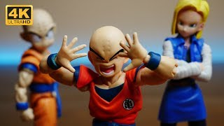 This is NOT the S.H. Figuarts Krillin (Klilyn) from Dragonball Z (bootleg alert)
