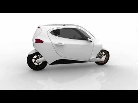 C-1 fully-enclosed self-balancing motorcycle