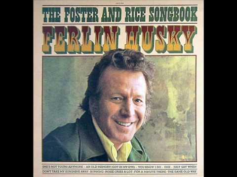 Ferlin Husky - An Old Memory Got In My Eye