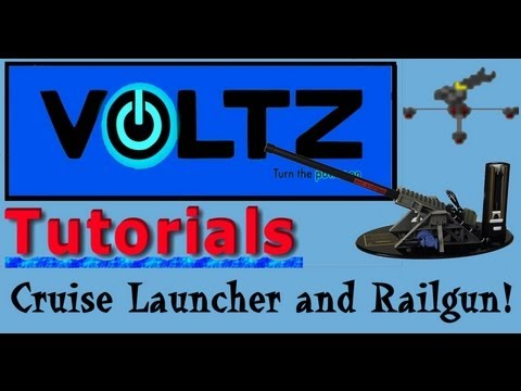 Railgun and Cruise Launcher (ICBM) Voltz Tutorial