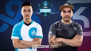 CS:GO - Cloud9 vs. SK [Inferno] Map 3 - Grand Final - ESL One Cologne 2017