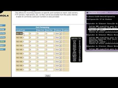 Configurar router VTR