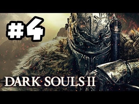Dark Souls 2 Walkthrough PART 4 - White Knight!! Let's Play Gameplay Playthrough (360/PS3/PC HD)