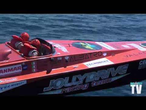 POWERBOAT - JOLLY DRIVE to Gallipoli 2013