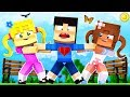 Minecraft Kindergarten - 2 CRAZY GIRLS FIGHT FOR MY LOVE!