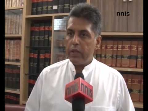 Budget Passed High On Rhetoric -- Manish Tewari To NNIS