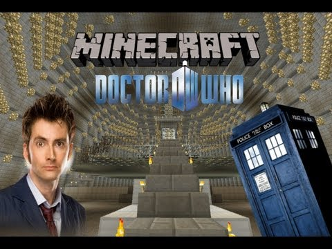 Minecraft Journey To The Center of The Tardis