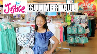JUSTICE SUMMER HAUL!!! SHOP WITH ME!