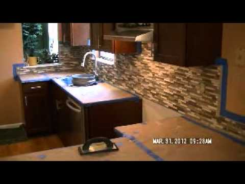 ... Kitchen Backsplash How To Install Html. Http Youtube Com Watch V  Yqqbrrc6a80