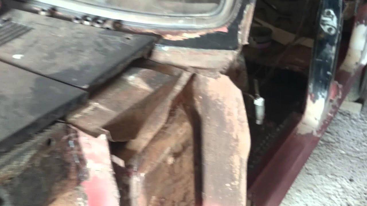 Газ 3110 кузовной ремонт своими руками видео