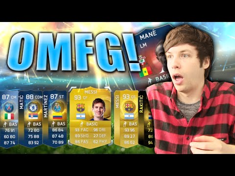 MESSI PACKED TWICE IN TEAM OF THE SEASON (TOTS)!! - FIFA 15 PACK OPENING