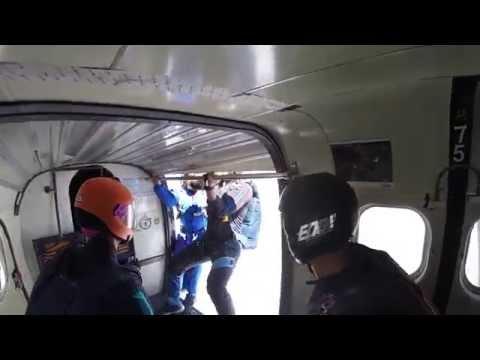 Salto Rulo Skydive Cuautla Octubre 3 720p60