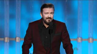 Golden Globes 2012 - Ricky Gervais Opening Monologue