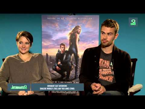 Divergent - Shailene Woodley & Theo James Interview from Spain