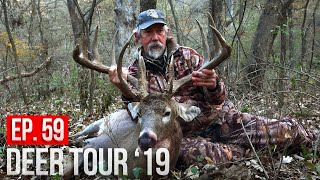 "TED MILLER'S HUNT for ""RED OCTOBER""! - BIG BUCKS on HORIZONTAL RUBS!"