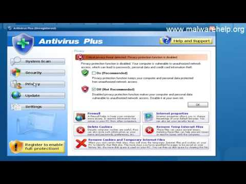 Antivirus Plus Scareware