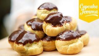 How to Make Nutella Profiteroles | Cupcake Jemma