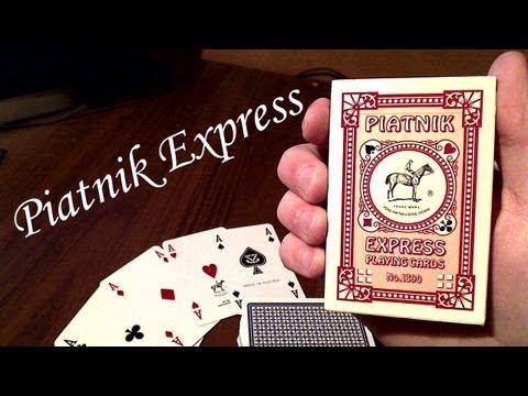 Обзор игральных карт Piatnik Express