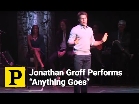 Jonathan Groff Channels His Inner Sutton Foster to Perform