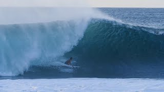 First Swell of the Season Lights Up Pipeline for Moniz Bros and Locals | SURFER | October 2nd, 2018