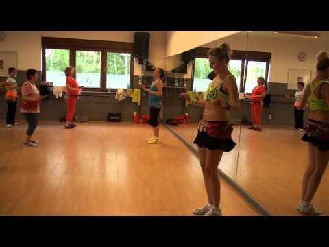 Zumba Gold - Belly Dance - Violint - Zumba A Liege video