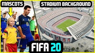 10 NEW FEATURES WE WOULD LIKE IN FIFA 20 (Mascots, Stadium Backgrounds & More)