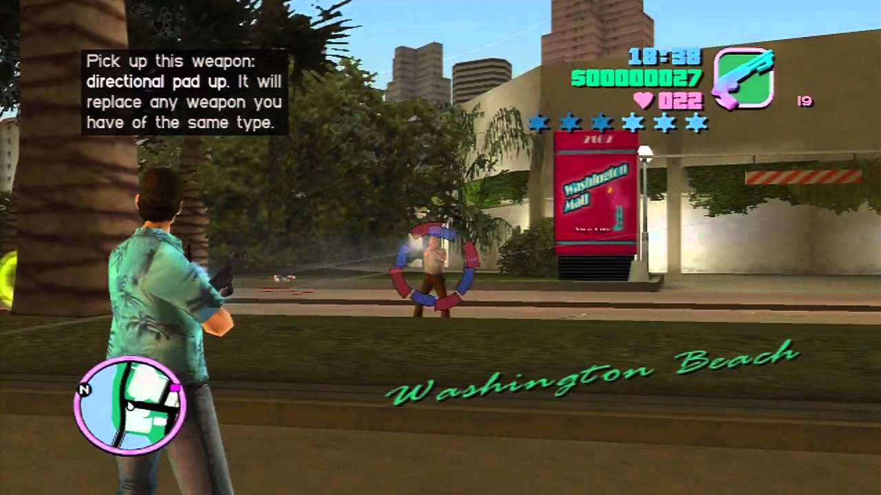 GTA Vice City Killing Spree Xbox On Xbox 360 In HD YouTube
