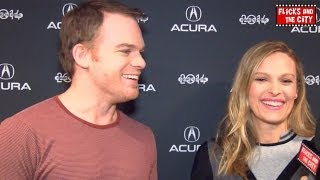 Cold In July & Dexter Spin-Off Interview - Michael C. Hall & Vinessa Shaw