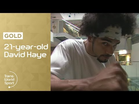 Unseen David Haye on Trans World Sport