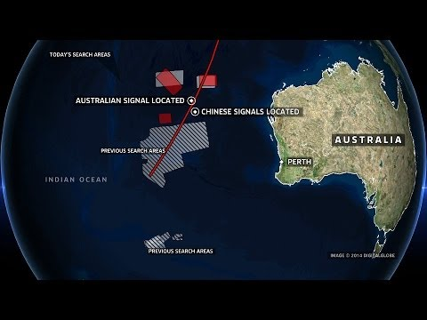 Missing Malaysian Airlines Flight MH370 Search Team Detect Two Signals