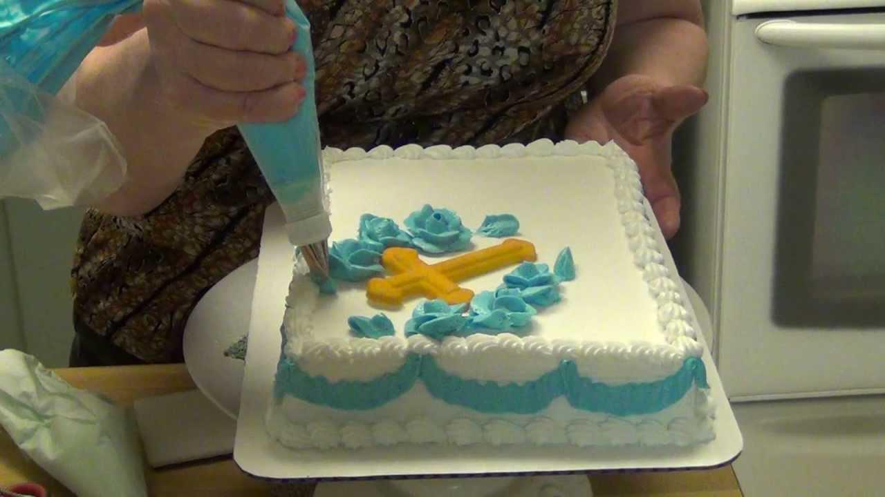 Easy Confirmation Cake Ideas