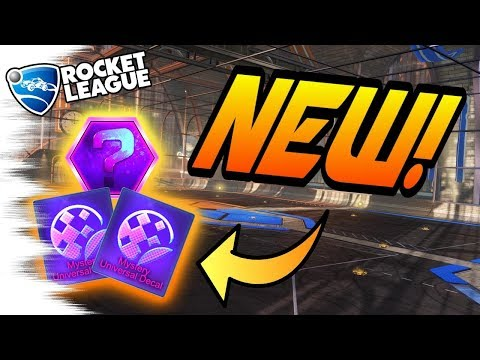Rocket League Update: New MYSTERY DECALS COMING! New Black Market Items/Crate (Gameplay & Tips)
