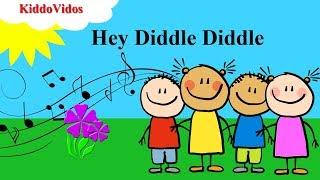 Hey Diddle Diddle Lullaby|Nursery Rhymes|Kids Videos