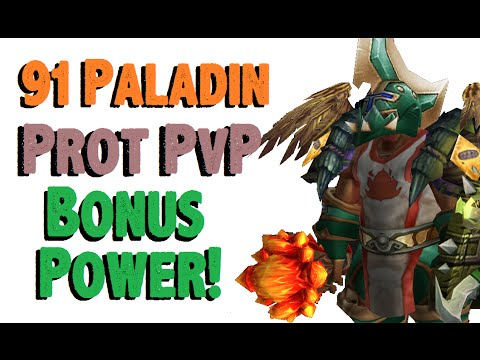 Doofensmirtz - Level 91 Protection Paladin Twink Pvp - Wod Patch 6.0.3 video