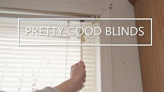 Pretty good blinds