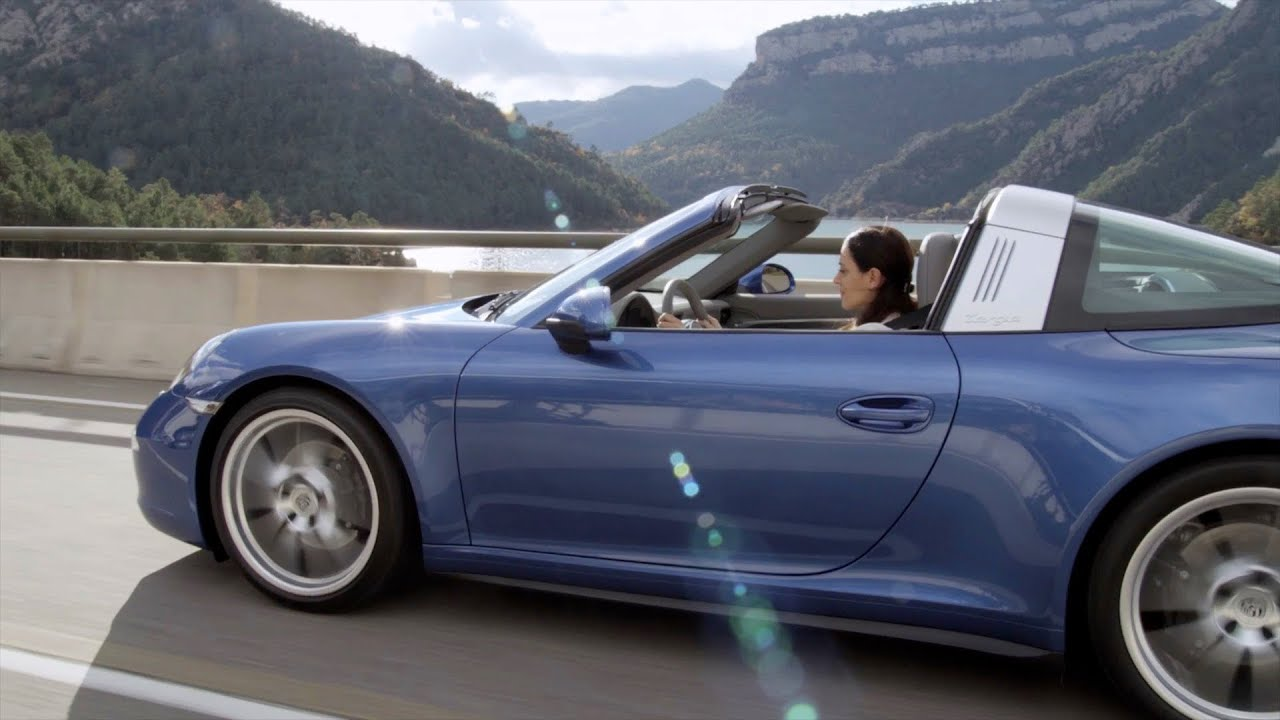 2015 Porsche 911 Targa Driving Youtube