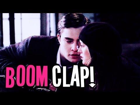 chuck & blair | boom clap