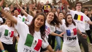 Flashmob at the REUNION WEEKEND 2018